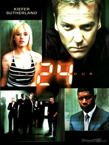 24 Giờ Chống Khủng Bố Phần 3 24 Giờ Sinh Tử: 24 Season 3.Diễn Viên: Hugh Dancy,Mads Mikkelsen,Caroline Dhavernas
