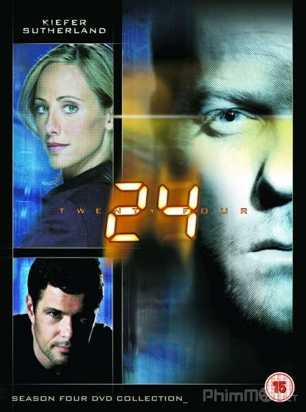 24 Giờ Chống Khủng Bố Phần 4 24 Giờ Sinh Tử: 24 Season 4.Diễn Viên: Bob Gunton,Cherry Jones,Kiefer Sutherland