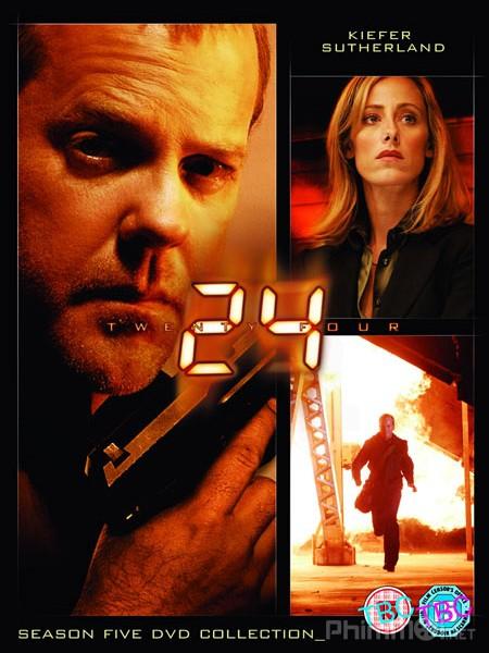 24 Giờ Chống Khủng Bố Phần 5 24 Giờ Sinh Tử: 24 Season 5.Diễn Viên: Sophia Bush,Andre Bellos,Jason Beghe,Jon Seda