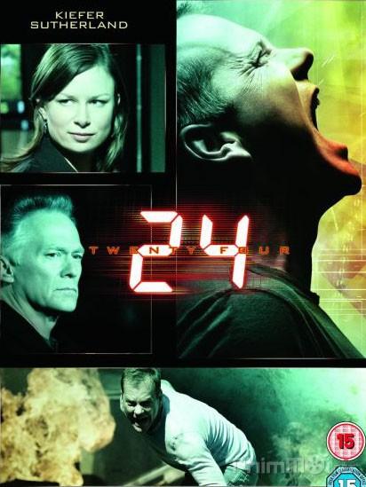 24 Giờ Chống Khủng Bố Phần 6 24 Giờ Sinh Tử: 24 Season 6.Diễn Viên: Bob Gunton,Cherry Jones,Kiefer Sutherland