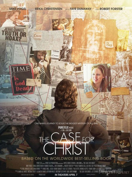 Theo Dấu Đức Tin The Case For Christ.Diễn Viên: Matt Damon,Tony Hale,Patton Oswalt