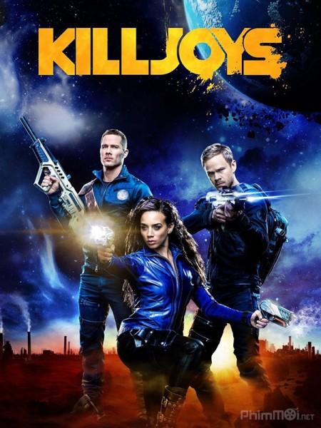 Đội Săn Tiền Thưởng Phần 3 Killjoys Season 3.Diễn Viên: John Hennigan,Osric Chau,Spencer Grammer