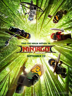 Ninja Lego Nhí The Lego Ninjago Movie.Diễn Viên: Sean Faris,Amy Johnston