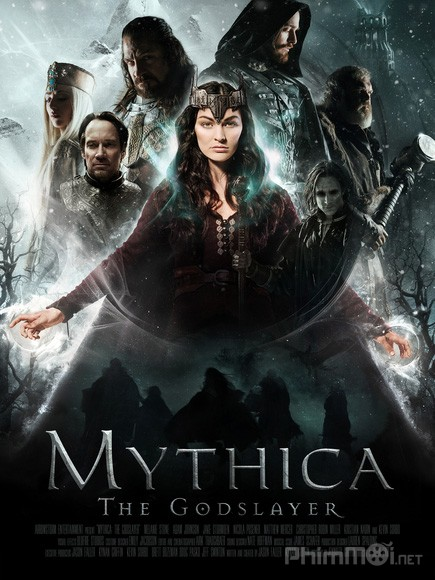Kẻ Sát Thần Mythica: The Godslayer.Diễn Viên: James Gaisford,Adam Johnson,Jon Lang,Eve Mauro