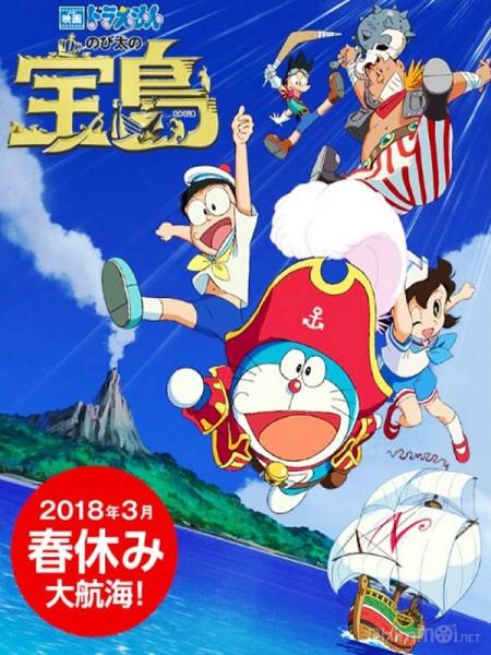 Nobita Và Đảo Giấu Vàng Doraemon: Nobitas Treasure Island.Diễn Viên: Doraemon,Nobuyo Oyama,Noriko Ohara,Michiko Nomura