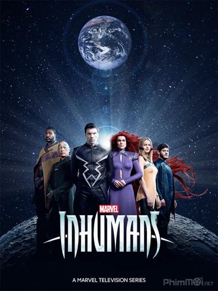 Siêu Dị Nhân Phần 1 - Marvels Inhumans Season 1 Việt Sub (2017)