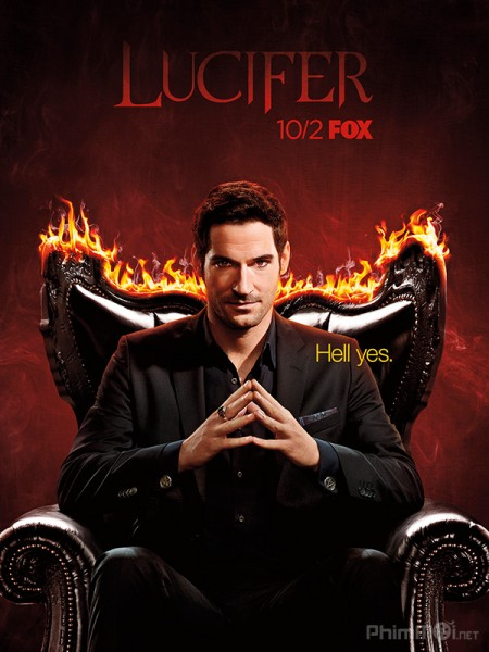 Chúa Tể Địa Ngục Phần 3 Lucifer Season 3.Diễn Viên: Dan Stevens,Rachel Keller,Aubrey Plaza,Bill Irwin