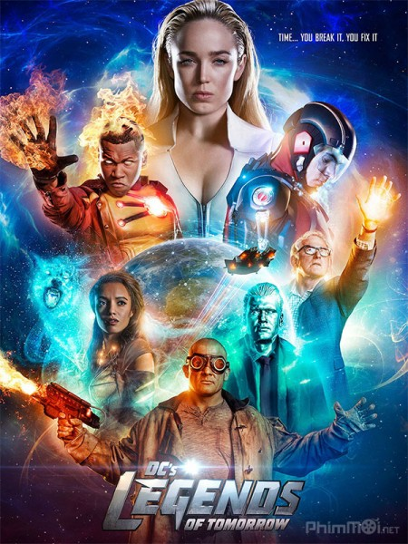 Huyền Thoại Của Ngày Mai Phần 3 Dcs Legends Of Tomorrow Season 3.Diễn Viên: Desmond Harrington,Michael C Hall,Jennifer Carpenter,David Zayas,Christina Robinson