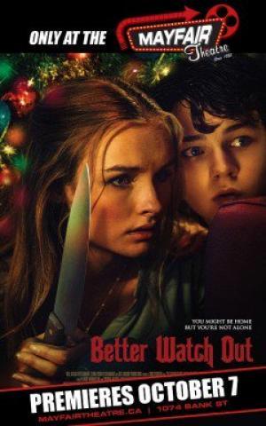 Đêm Ngoại Ô Better Watch Out.Diễn Viên: Virginia Madsen,Patrick Warburton,Olivia Dejonge,Ed Oxenbould