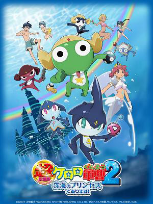 Chou Gekijouban Keroro Gunsou 2 Shinkai No Princess De Arimasu.Diễn Viên: Frontier Works,Media Factory,Movic,At,X,White Fox,Kadokawa Pictures Japan,Mages