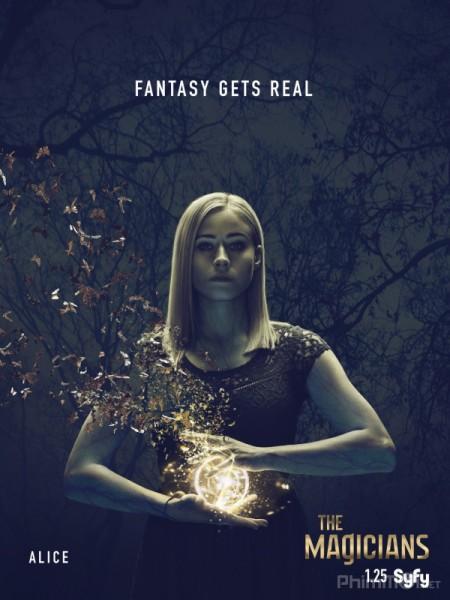 Hội Pháp Sư Phần 3 The Magicians Season 3.Diễn Viên: John Hurt,Bradley James,Colin Morgan