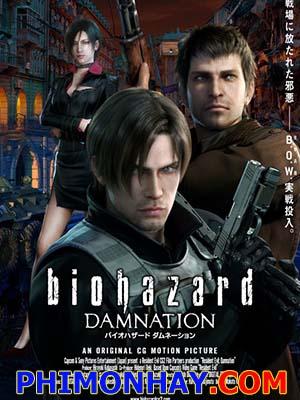 Vùng Đất Qủy Dữ: Nguyền Rủa Sự Suy Thoái: Resident Evil Damnation.Diễn Viên: Courtenay Taylor,Robin Sachs And Carolyn Lawrence