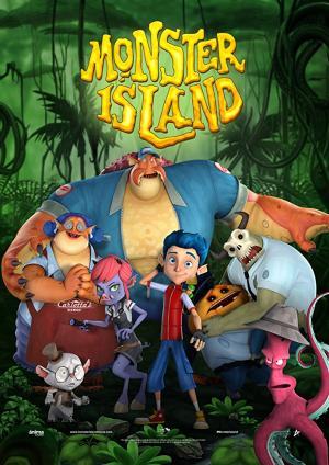 Hòn Đảo Quái Vật Monster Island.Diễn Viên: Fiona Hardingham,Roger Jackson,Jenifer Beth Kaplan