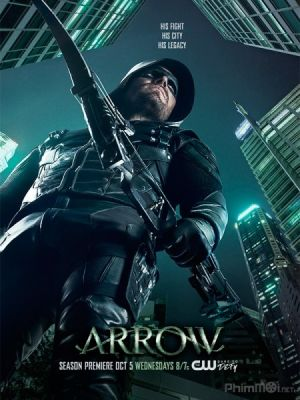 Mũi Tên Xanh Phần 5 Arrow Season 5.Diễn Viên: Stephen Amell,David Ramsey,Willa Holland,Paul Blackthorne
