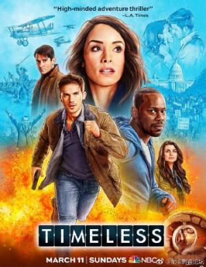 Truy Đuổi Vượt Thời Gian Phần 2 Timeless Season 2.Diễn Viên: Claudia Doumit,Malcolm Barrett