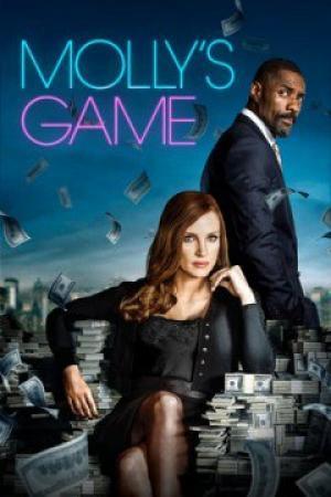 Nữ Hoàng Poker Mollys Game.Diễn Viên: Jessica Chastain,Idris Elba,Kevin Costner,Michael Cera