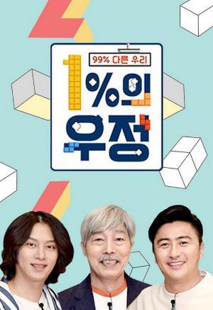 1% Tình Bạn 1% Friendship.Diễn Viên: Kim Jong Min,Kim Hee Chul,Ahn Jung Hwan,Jeong Hyung Don