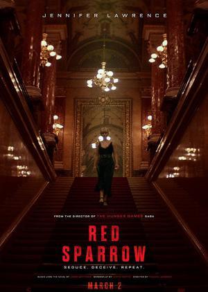 Điệp Vụ Chim Sẻ Đỏ Red Sparrow.Diễn Viên: Jennifer Lawrence,Mary,Louise Parker