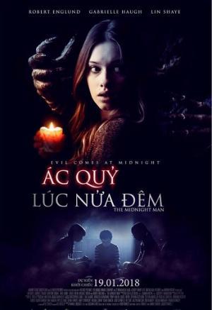 Ác Quỷ Lúc Nửa Đêm The Midnight Man.Diễn Viên: Logan Creran,Gabrielle Haugh,Robert Englund,Grayson Gabriel,Emily Haine