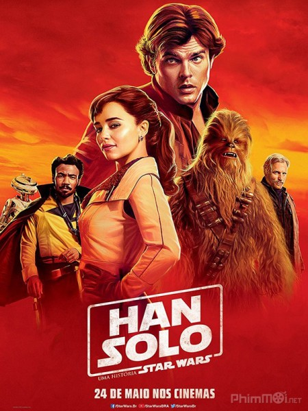 Han Solo: Star Wars Ngoại Truyện Solo: A Star Wars Story.Diễn Viên: Emilia Clarke,Alden Ehrenreich