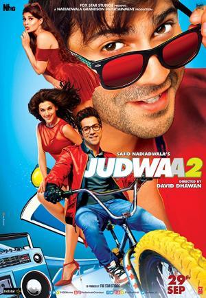 Cặp Song Sinh Judwaa 2.Diễn Viên: Salman Khan,Anupam Kher,Jacqueline Fernandez,Tapsee Pannu
