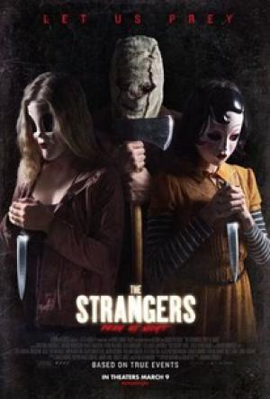 Sát Nhân Giấu Mặt: Đêm Đẫm Máu The Strangers: Prey At Night.Diễn Viên: Christina Hendricks,Bailee Madison,Lewis Pullman,Emma Bellomy