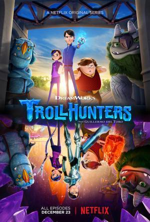 Thợ Săn Yêu Tinh Trollhunters.Diễn Viên: Anton Yelchin,Kelsey Grammer,Charlie Saxton