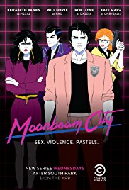 Moonbeam City American Animated Series.Diễn Viên: Ashley Tisdale,Jonathan Banks,Justin Long