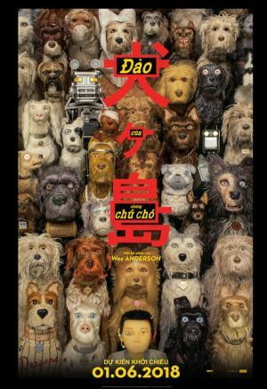 Đảo Của Những Chú Chó Isle Of Dogs.Diễn Viên: Edward Norton,Bryan Cranston,Koyu Rankin