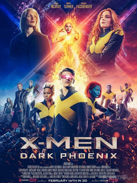 Dị Nhân 8: Phượng Hoàng Bóng Tối - X-Men: Dark Phoenix Thuyết Minh (2019)