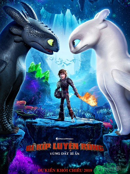 Bí Kíp Luyện Rồng: Vùng Đất Bí Ẩn How To Train Your Dragon: The Hidden World.Diễn Viên: Crystal Reed,Mylène Farmer,Anastasia Phillips