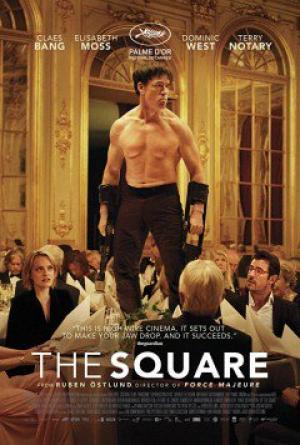 Hình Vuông The Square.Diễn Viên: Dominic West,Elisabeth Moss,Claes Bang