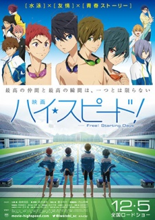 High Speed! Free! Starting Days.Diễn Viên: A Sequel To The First Movie,Planned To Feature Mecha Godzilla