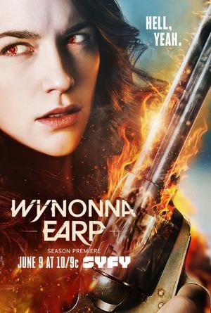 Quý Cô Diệt Quỷ Phần 3 Wynonna Earp Season 3.Diễn Viên: Melanie Scrofano,Shamier Anderson
