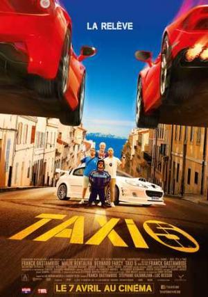 Quái Xế Taxi 5 Taxi 5.Diễn Viên: Bernard Farcy,Anouar Toubali,Edouard Montoute,Eric Fraticelli