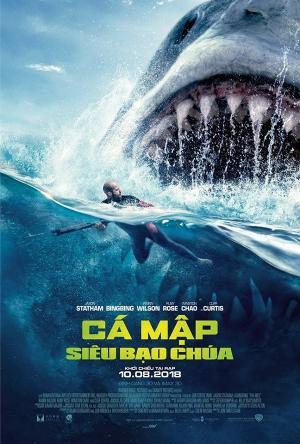 Cá Mập Siêu Bạo Chúa The Meg.Diễn Viên: Bingbing Li,Jason Statham,Rainn Wilson