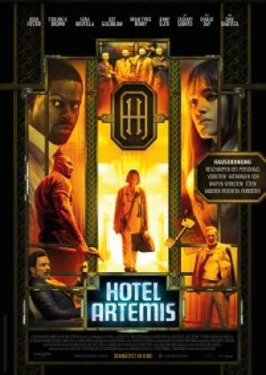 Khách Sạn Tội Phạm Hotel Artemis.Diễn Viên: Sofia Boutella,Jodie Foster,Dave Bautista,Jeff Goldblum