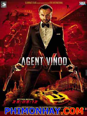 Mật Vụ Ăn Chơi - Agent Vinod