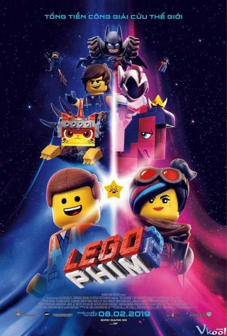 Bộ Phim Lego 2 The Lego Movie 2: The Second Part.Diễn Viên: Ice Cube,Kevin Hart,Tika Sumpter