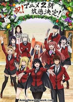 Kakegurui 2Nd Season Compulsive Gambler 2Nd Season.Diễn Viên: By The Grace Of The Gods
