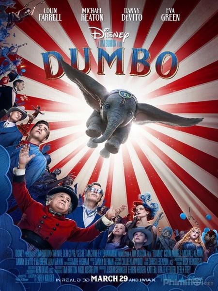 Dumbo Chú Voi Biết Bay.Diễn Viên: Sam Worthington,Liam Neeson,Ralph Fiennes
