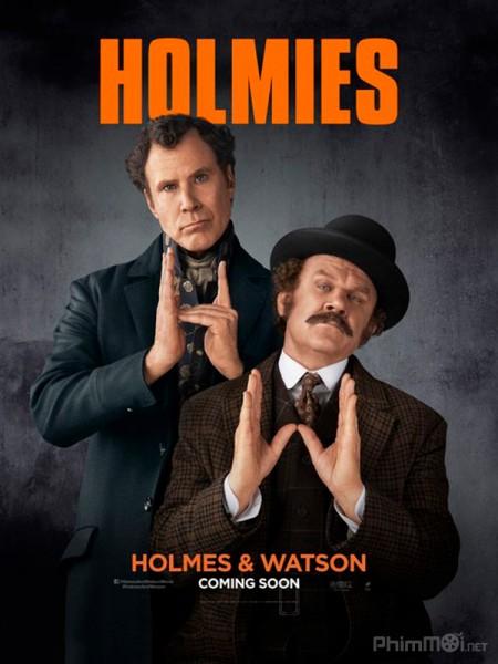 Thám Tử Holmes Và Bác Sĩ Watson Holmes And Watson.Diễn Viên: Cate Blanchett,Christian Bale,Andy Serkis,Naomie Harris