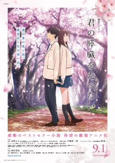 I Want To Eat Your Pancreas Kimi No Suizou Wo Tabetai.Diễn Viên: Kimisui,Let Me Eat Your Pancreas