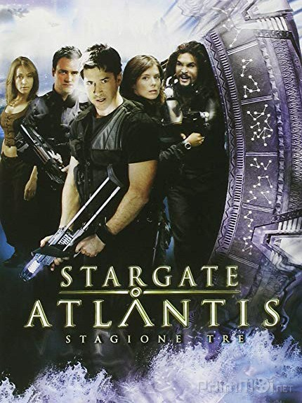 Trận Chiến Xuyên Vũ Trụ Phần 3 Stargate: Atlantis Season 3.Diễn Viên: João Miguel,Michel Gomes,Rodolfo Valente,Vaneza Oliveira