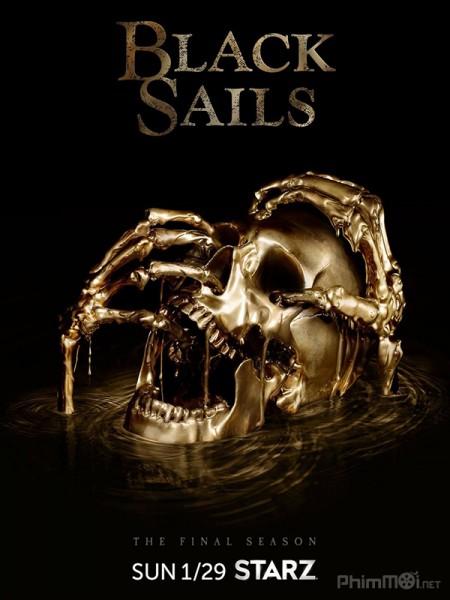 Cánh Buồm Đen Phần 4 Black Sails Season 4.Diễn Viên: Jessica Parker Kennedy,Toby Stephens,Hannah New