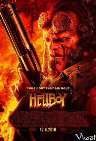 Quỷ Đỏ 3 Hellboy 3.Diễn Viên: Daniel Dae Kim,Milla Jovovich,David Harbour