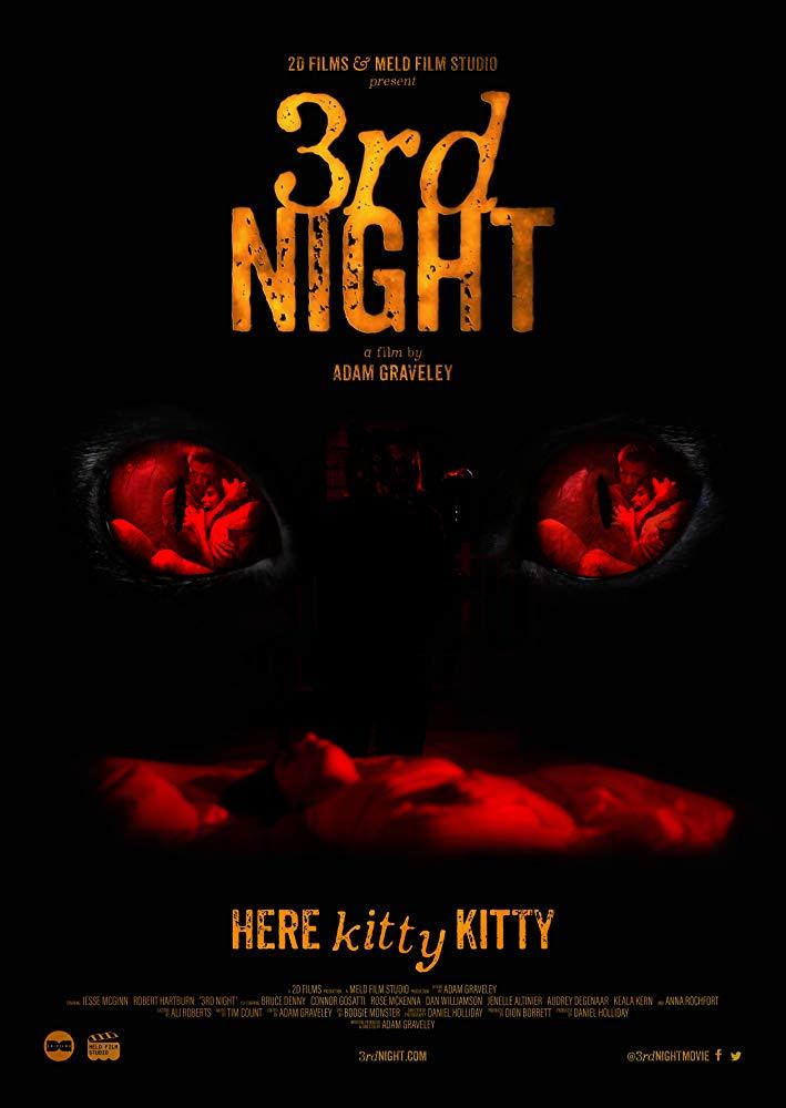 Đêm Thứ 3 Kinh Hoàng 3Rd Night.Diễn Viên: Vbruce Denny,Jesse Mcginn,Robert Hartburn