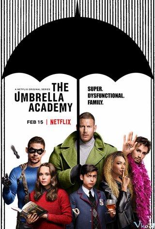 Học Viện Siêu Anh Hùng 1 The Umbrella Academy Season 1.Diễn Viên: Ellen Page,Tom Hopper,David Castañeda