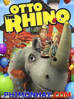 Chú Tê Giác Otto Otto The Rhino.Diễn Viên: Nikolai Aamand,Noah Crone Back,Lars Brygmann