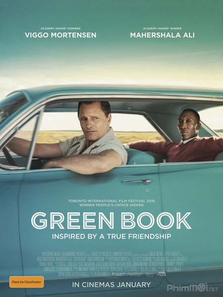 Cẩm Nang Xanh Green Book.Diễn Viên: Lisa Boyle,Will Smith,Martin Lawrence